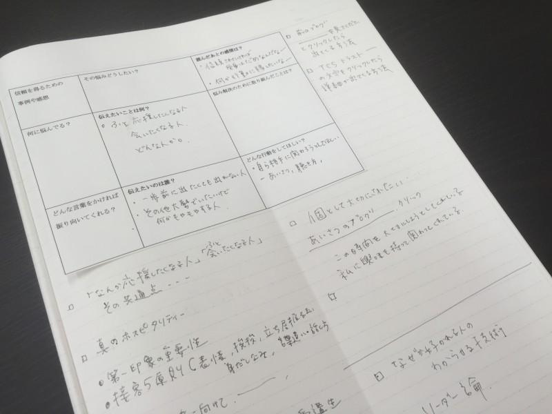 ブログ用ノート